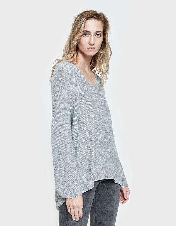 SORI Carolina Sweater In Grey