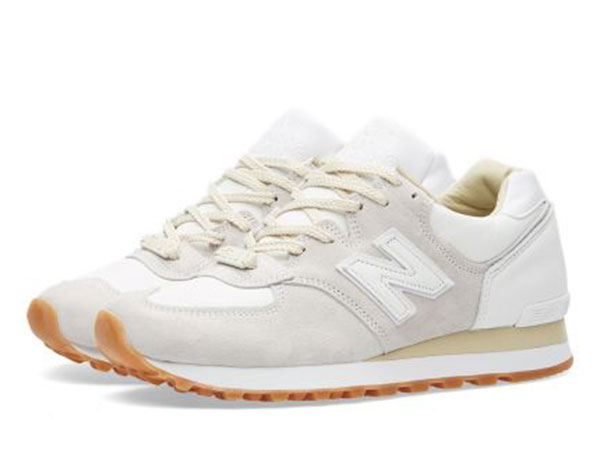 END. x New Balance M575END 'Marble White'  White & Grey
