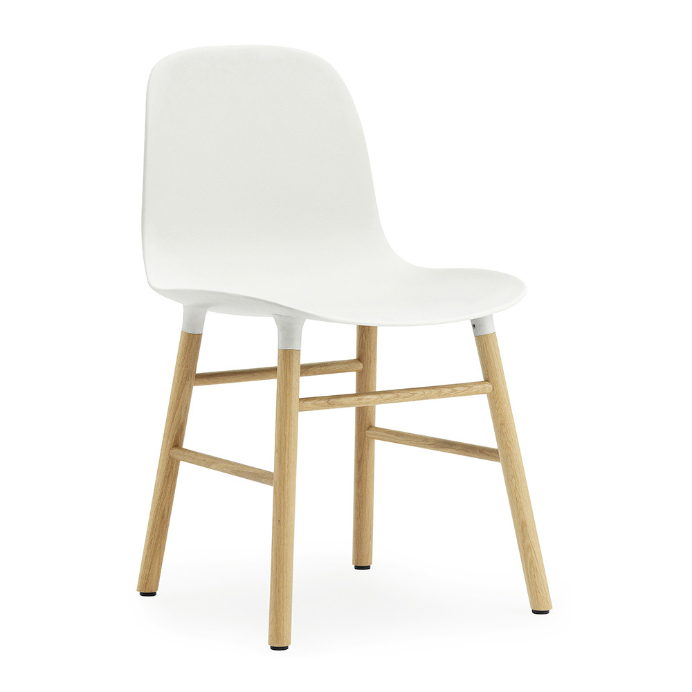 Normann Copenhagen Form Chair — Oak — White