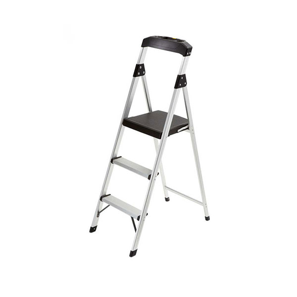 GORILLA LADDERS 3-Step Aluminum Step Stool Ladder