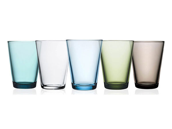 IITTALA Kartio Set of Two Glass Tumblers