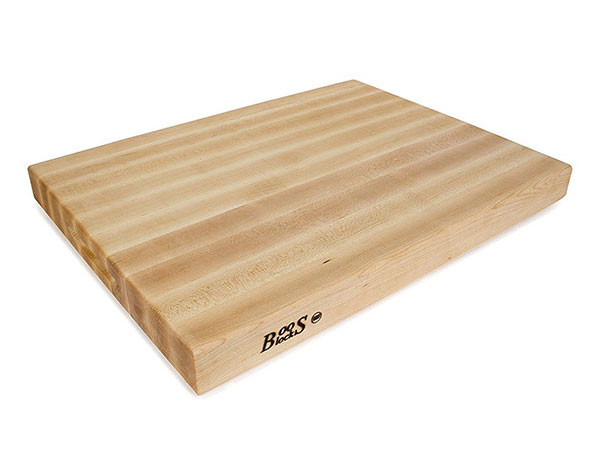 JOHN BOOS Maple Wood Edge Grain Reversible Cutting Board