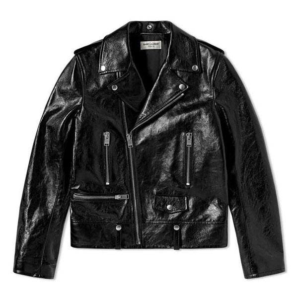 SAINT LAURENT Morder L01 Biker Jacket  Black