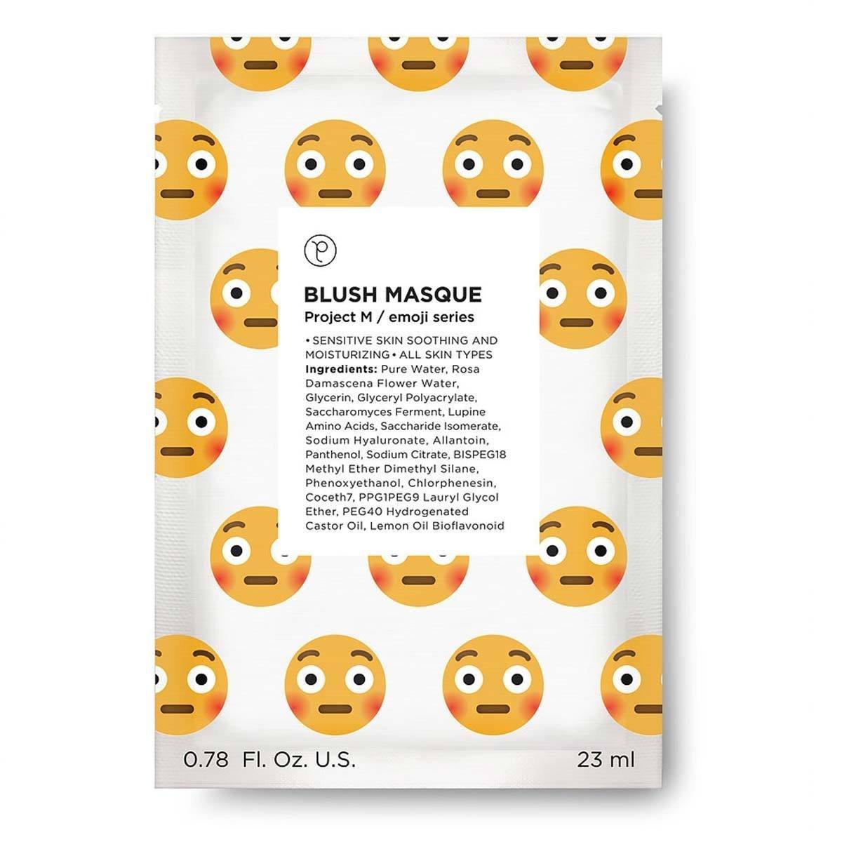 PETITE AMIE Blush Emoji Masque (Single)