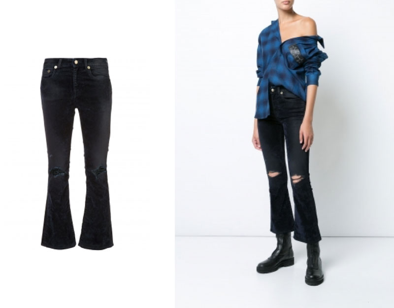 Kick Fit Velvet Jean