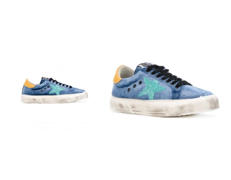 May Velvet Sneakers
