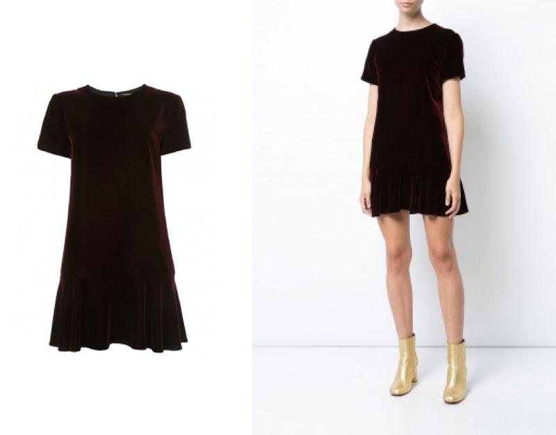 Velvet Minidress