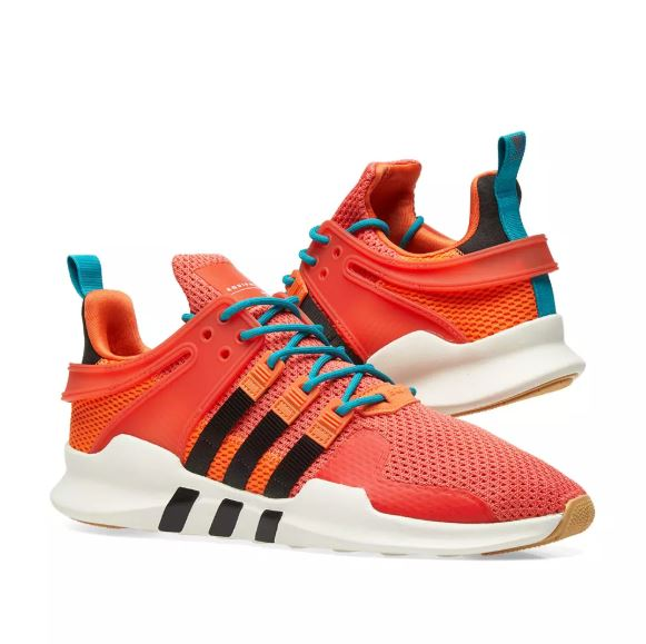 ADIDAS EQT SUPPORT ADV SUMMER ORANGE, WHITE & GUM