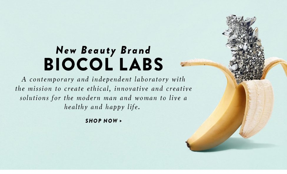 New Beauty brand BIOCOL LABS