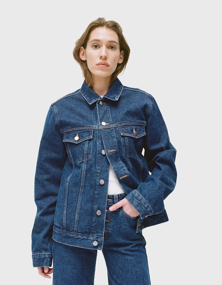 NEED Oversized Denim Jacket in Judd Wash