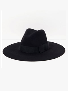 Brixton Piper Hat In Black