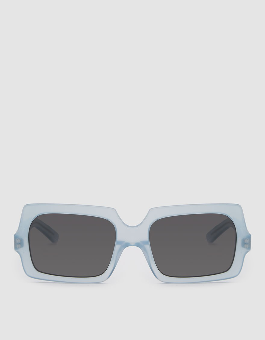 ACNE STUDIOS George Large Sunglasses in Light Blue