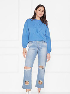 Vintage Sweatshirt - French Blue