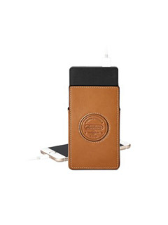 Aerodrome Tech Charger Pack & Case In Smooth Tan