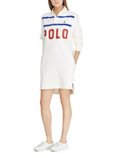 Polo Cotton Rugby Dress