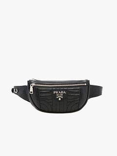 Prada Diagramme Leather Belt Bag
