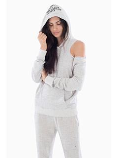 Mavis In Heather Grey Sweatshirt