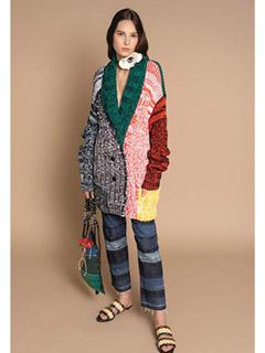 Crochet Knit Cardigan