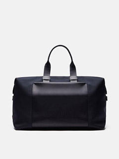 London Weekender - Navy Nylon & Navy Leather