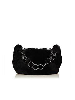 Fur Chain Handbag