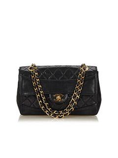 Matelasse Leather Flap Bag