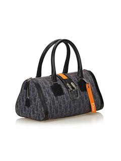 Denim Flight Handbag