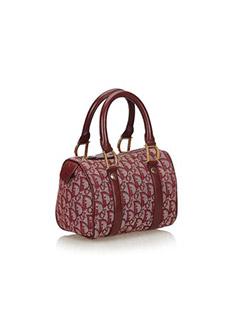 Oblique Jacquard Handbag