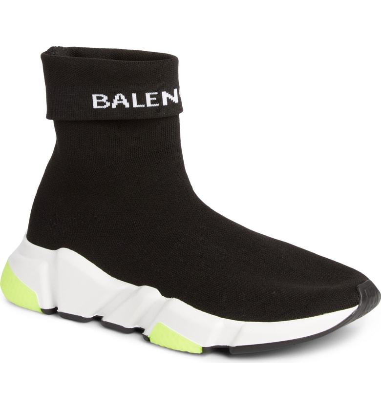 BALENCIAGA Hi Speed Logo Sock Sneaker