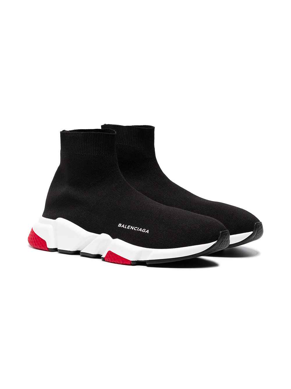 BALENCIAGA Black Speed Sock Sneakers