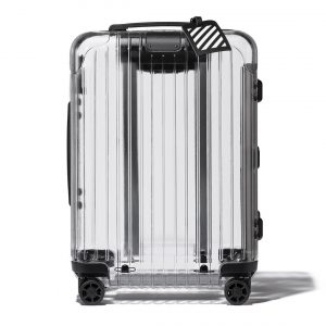 RIMOWA x OFF-WHITE Transparent Cabin Size Limited Edition
