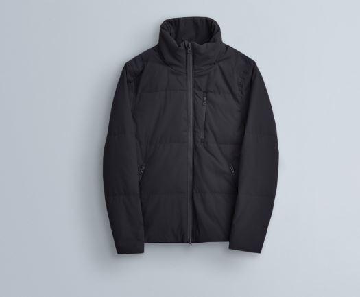 THE ARRIVALS Aelo – Lightweight Down Zip Up Jacket