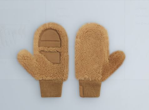 THE ARRIVALS  KODA MITTENS Teddy Mittens