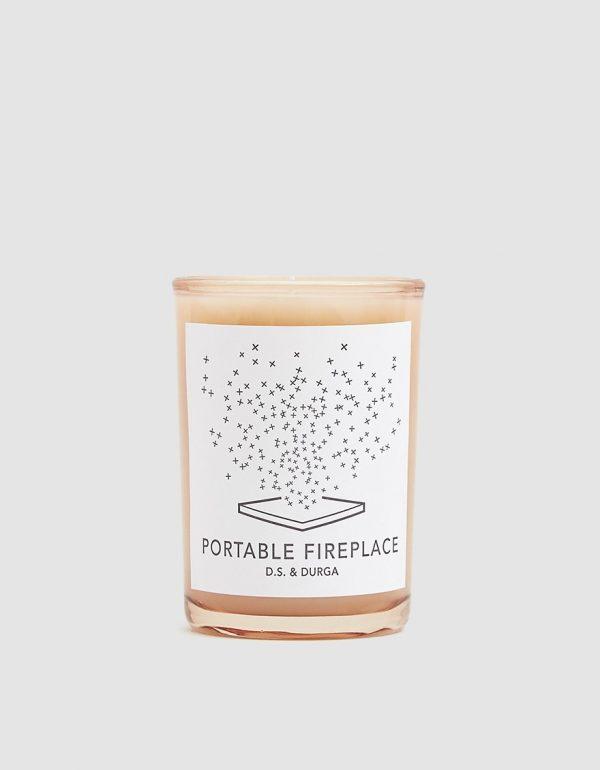 D.S. & DURGA Portable Fireplace Candle