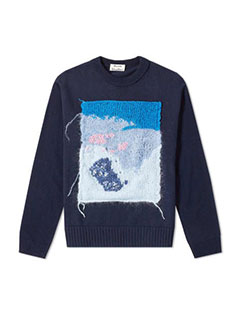 Acne Studios Knit Panel Sweater