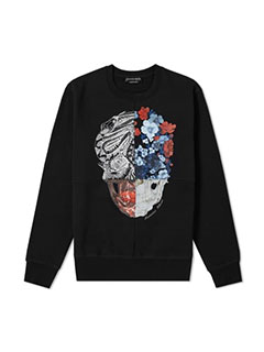 Alexander McQueen Multi Panel Print Sweat