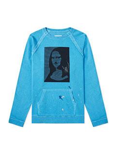 Maison Margiela 10 Mona Lisa Washed Crew Sweat