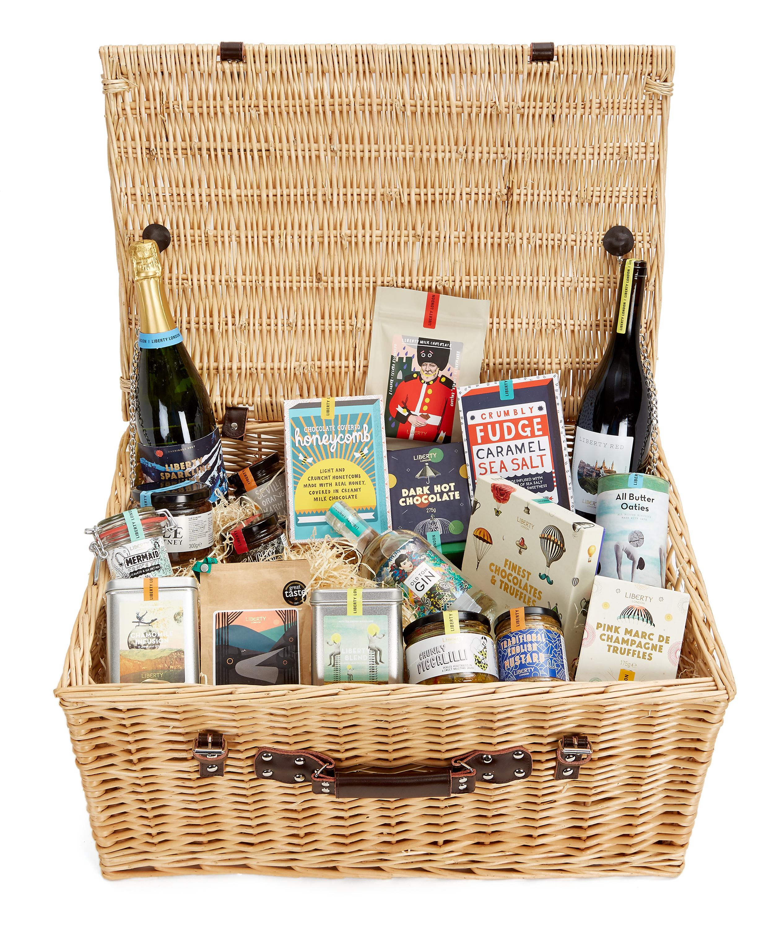 LIBERTY LONDON Wicker Gift Basket – Online Exclusive