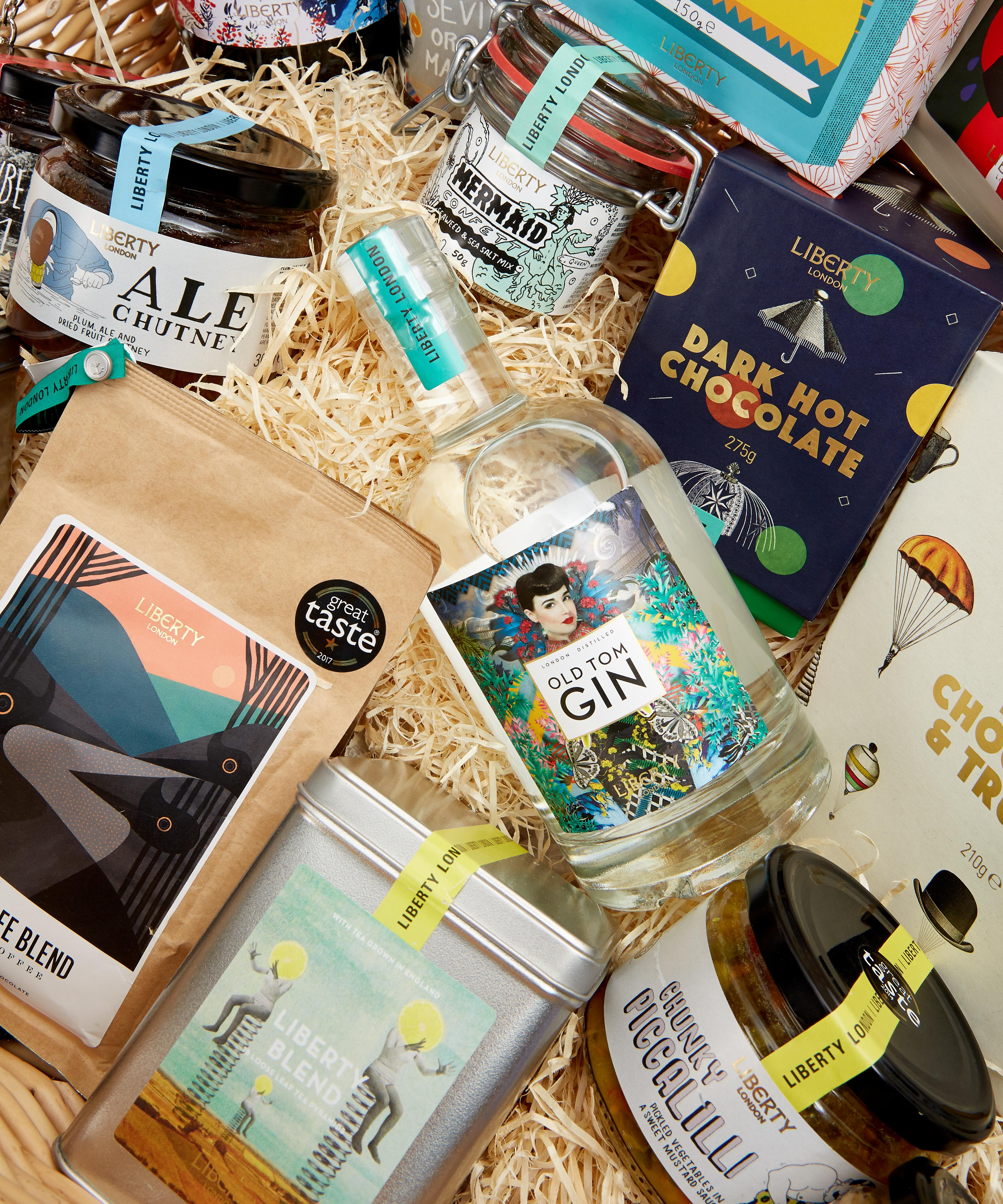 LIBERTY LONDON Wicker Gift Basket – Online Exclusive