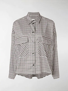 Angular Check Shirt