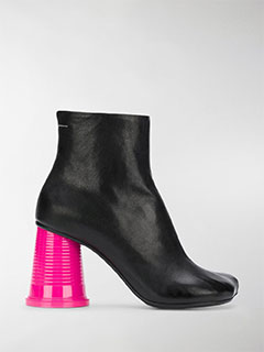 Colour-block Ankle Boots