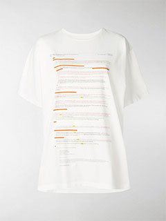 E-mail Thread Print T-shirt