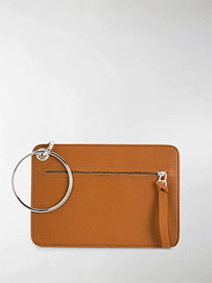 Ring Detail Clutch