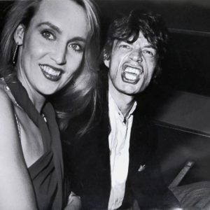 """RON GALELLA """"Limelight"""", Photo of Mick Jagger and Jerry Hall by Ron Galella, 1984"""