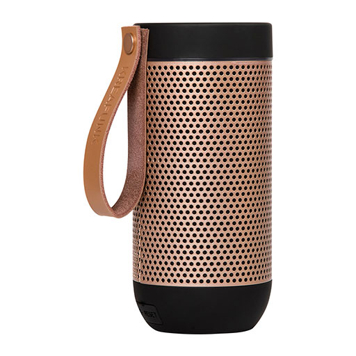aFunk 360 Degrees Bluetooth Speaker – Black/Rose Gold