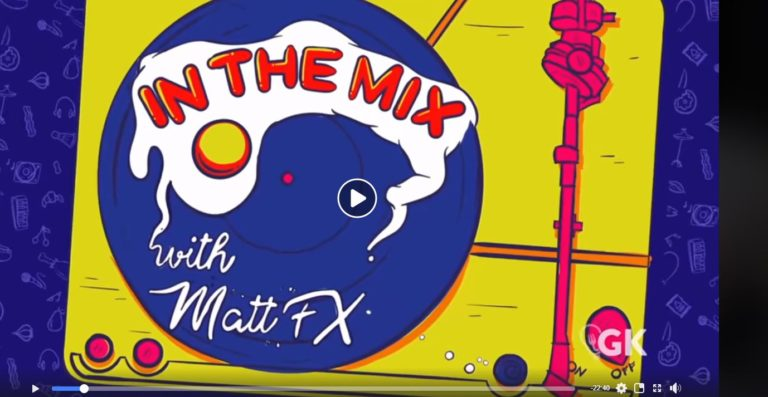 IN THE MIX WITH MATT FX // Digital Series Premiere #FoodAndMusic