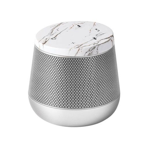 Miami Sound Bluetooth Speaker – Light Gold/White Marble