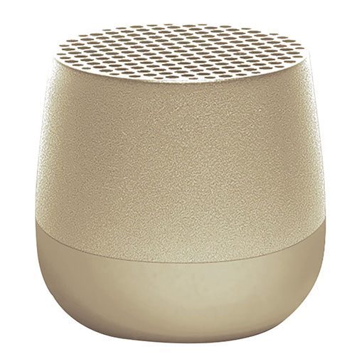 Mino Bluetooth Speaker – Light Gold