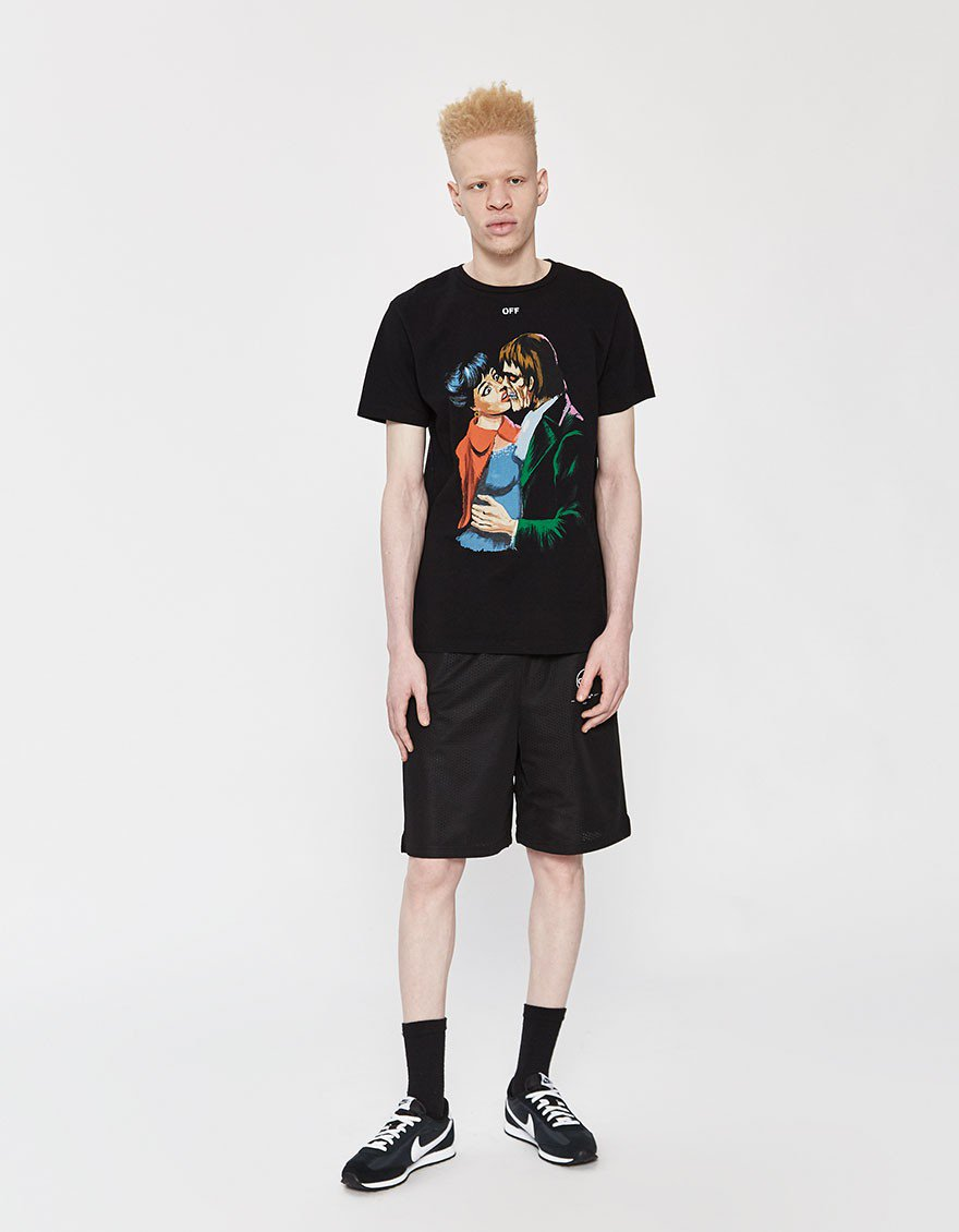 OFF-WHITE S/S Kiss Slim Tee