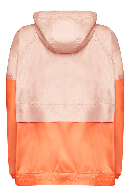 Adidas by Stella McCartney Hooded Half-Zip Windbreaker