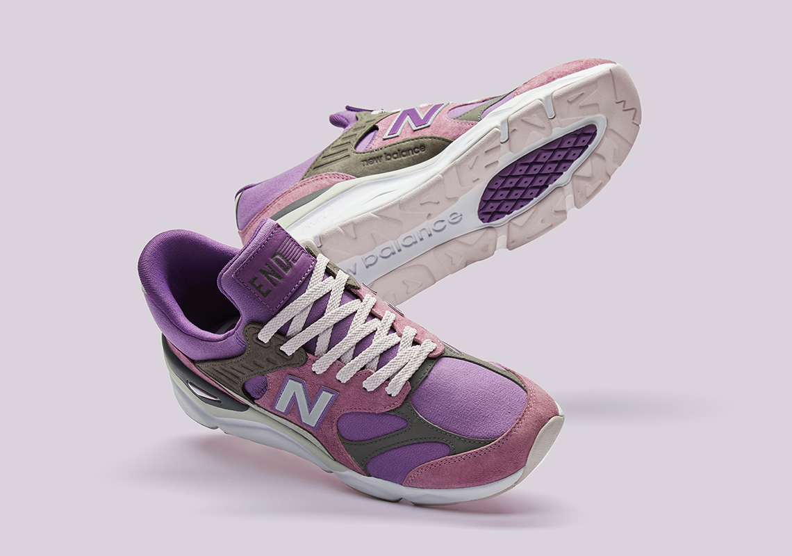 "END And New Balance's X-90 ""Purple Haze"" Pack Is Inspired By Incense"